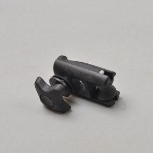 Adjustable nylon block for Ext. upper support bars