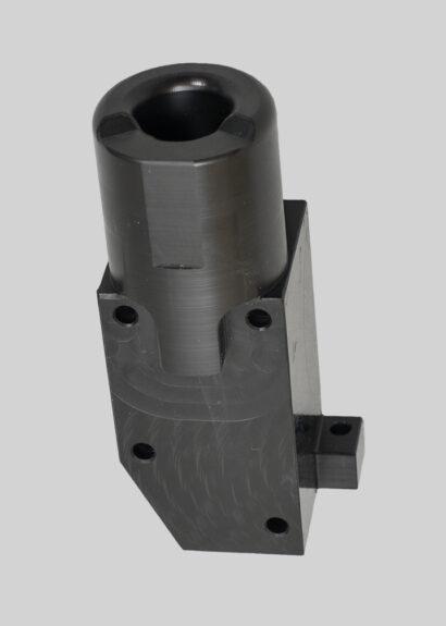 Lower nylon block w/ pivot stop